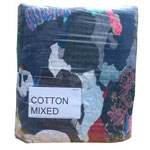 Mixed Cotton/Coloured Rags 10kg Per Bag